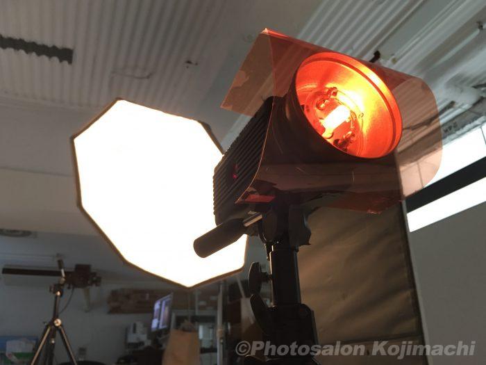 撮影ライティング写真
