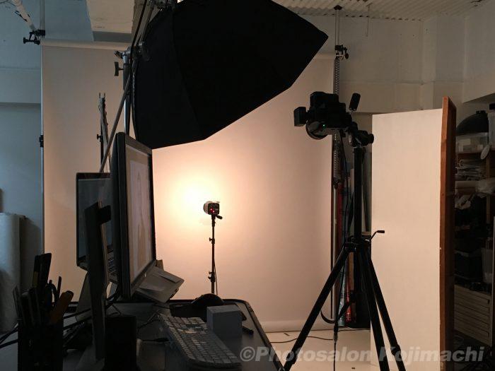 ビジネスポートレートプロフィール写真撮影ライティング