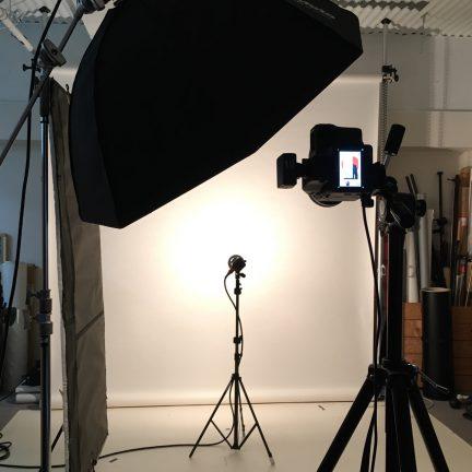 ホームページ用ビジネスポートレートプロフィール写真撮影ライティング