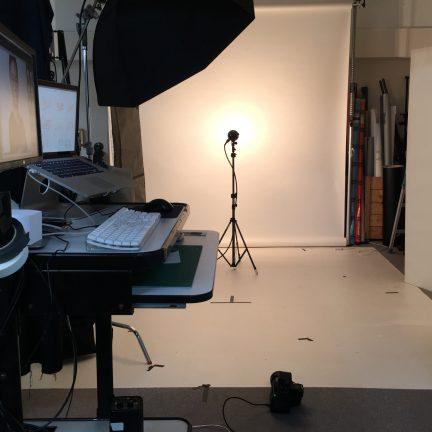 パンフレット用ビジネスポートレートプロフィール写真撮影ライティング