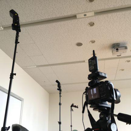 【出張撮影】プレスリリース用人物写真撮影ライティング