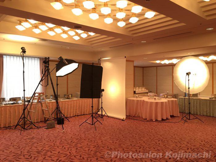 【出張撮影】役員個人ポートレート/集合写真撮影のライティング