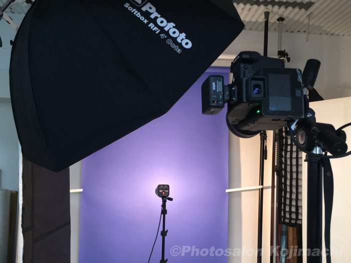 ビジネスポートレート社員プロフィール写真撮影ライティング
