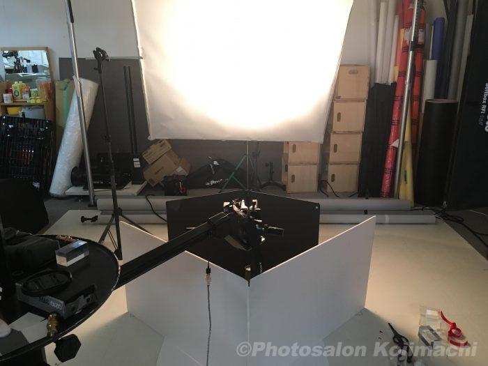 【ブツ撮り】週刊誌表紙撮影ライティング