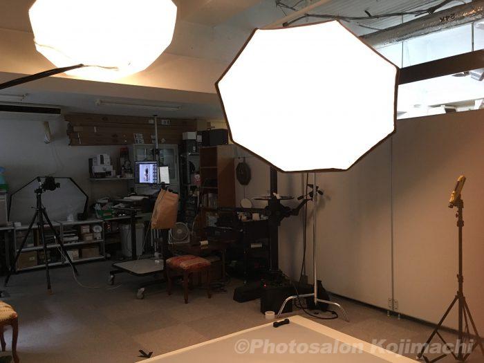 【記念写真】叙勲記念写真撮影ライティング