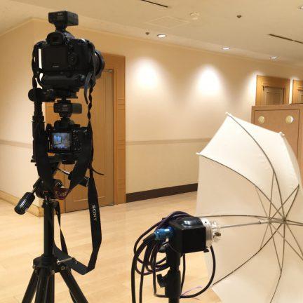 【出張撮影】集合写真撮影ライティング