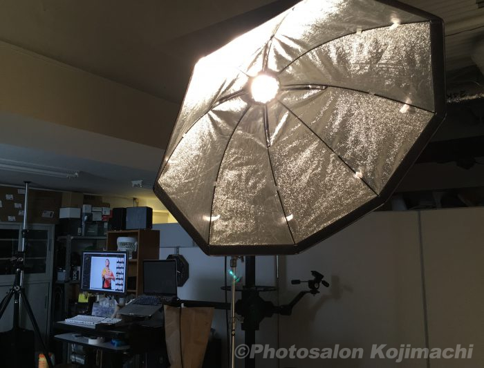 【ポートレート】広報用イメージ人物撮影ライティング