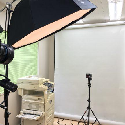 【出張撮影】ビジネスプロフィール写真撮影ライティング