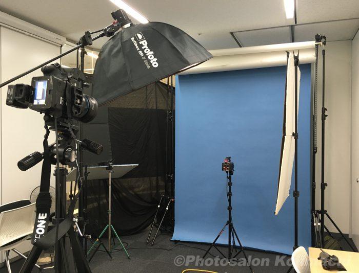 【出張撮影】大人数ビジネスポートレート撮影ライティング