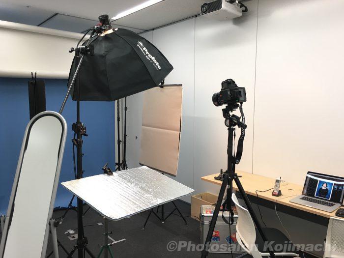 【出張撮影】多人数ビジネスポートレート撮影ライティング