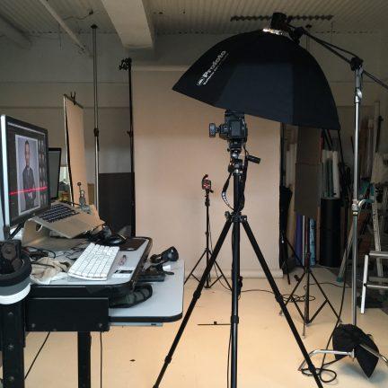 【ビジネスポートレート】多人数プロフィール写真撮影ライティング