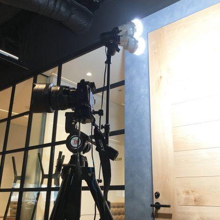 【出張撮影】オフィスイメージ内観撮影ライティング