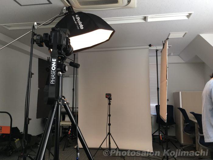 【出張撮影】役員ポートレート、集合写真撮影ライティング