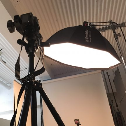 【ビジネスポートレート】ウェブサイト用プロフィール写真撮影ライティング