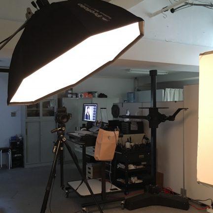 【ビジネスポートレート】ID用プロフィール写真撮影ライティング