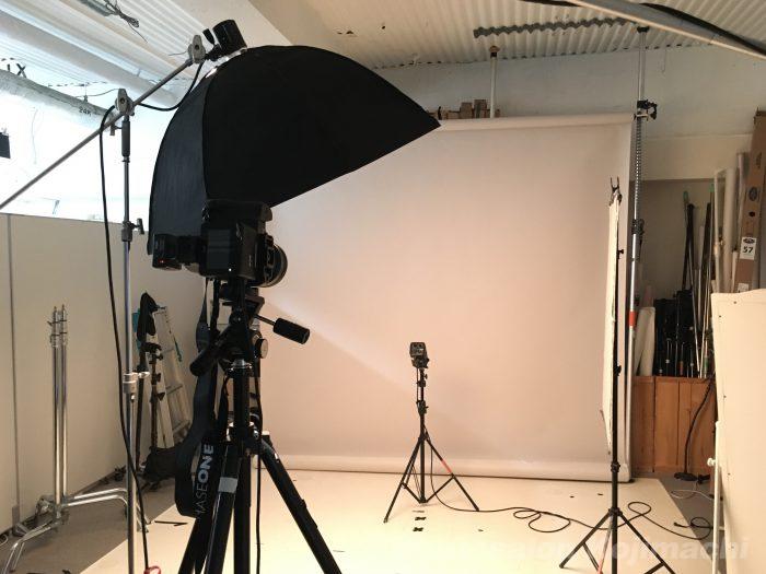 【ビジネスポートレート】web用プロフィール写真撮影ライティング