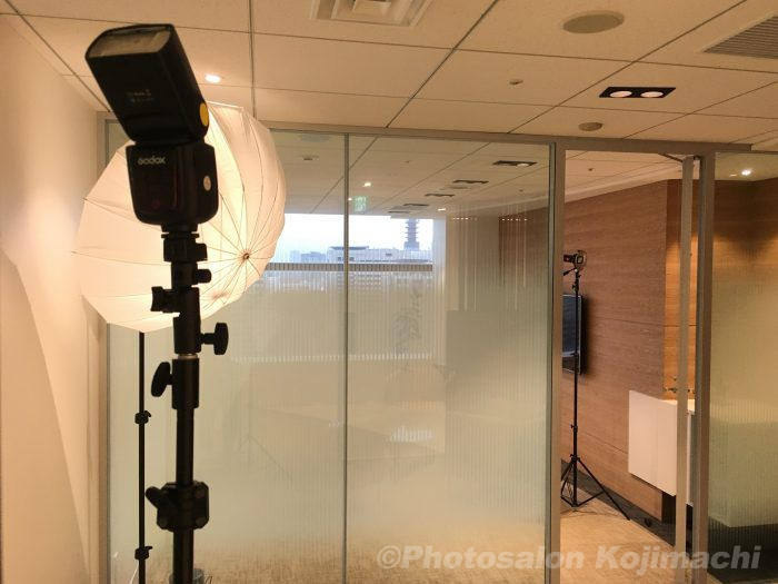 【出張撮影】web用プロフィールポートレート撮影ライティング