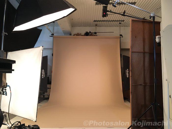 【記念写真】振袖記念写真撮影ライティング