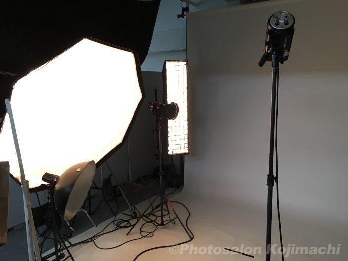 【人物撮影】チラシ用着用イメージモデル撮影ライティング
