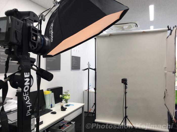 【出張撮影】ホームページ用ポートレート撮影ライティング