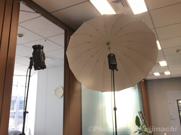 【出張撮影】社員ビジネスポートレートライティング