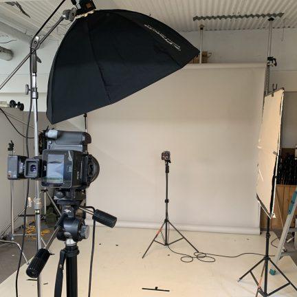 【ビジネスポートレート】役員プロフィール写真撮影ライティング