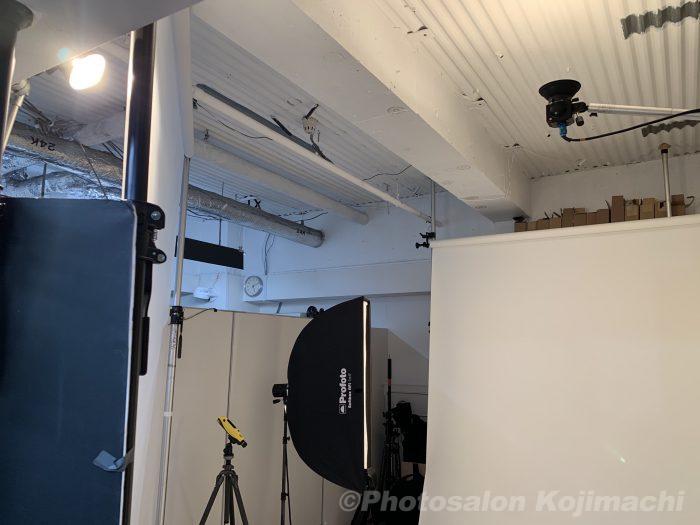 【ポートレート】単行本表紙用人物撮影ライティング
